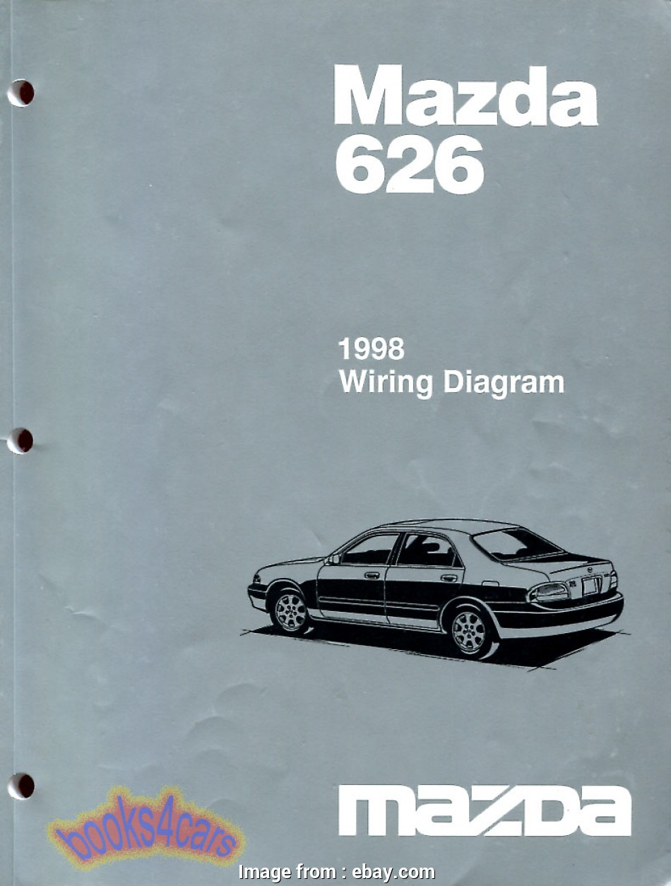 medium resolution of mazda 626 electrical wiring diagram real original book pages printed by mazda complete electrical wiring