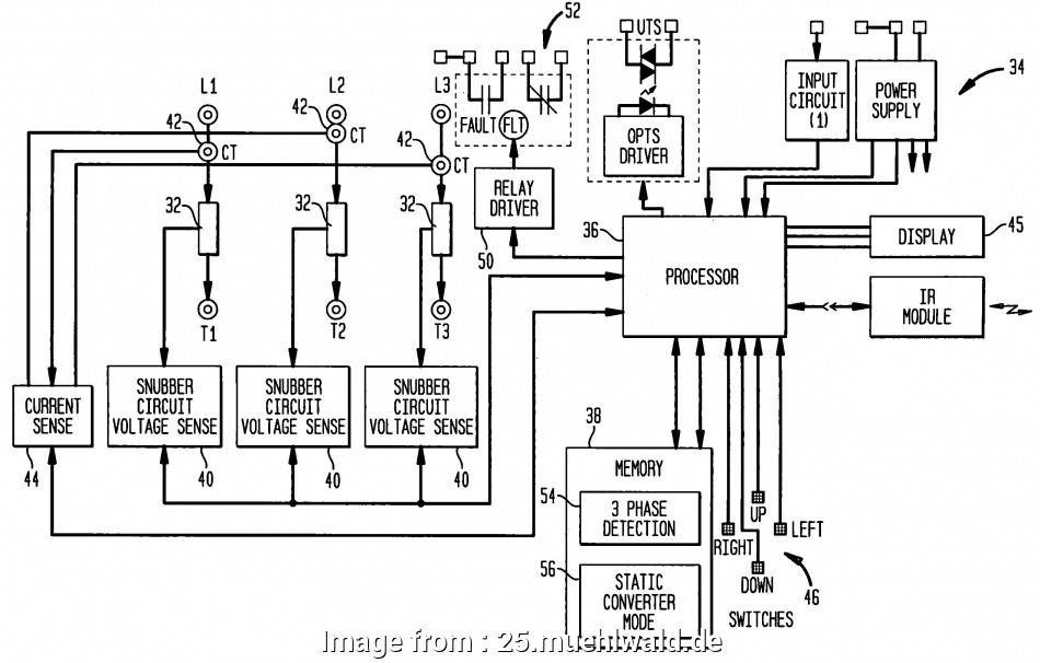 Motor Starter Wiring Diagram Start Stop Professional 3