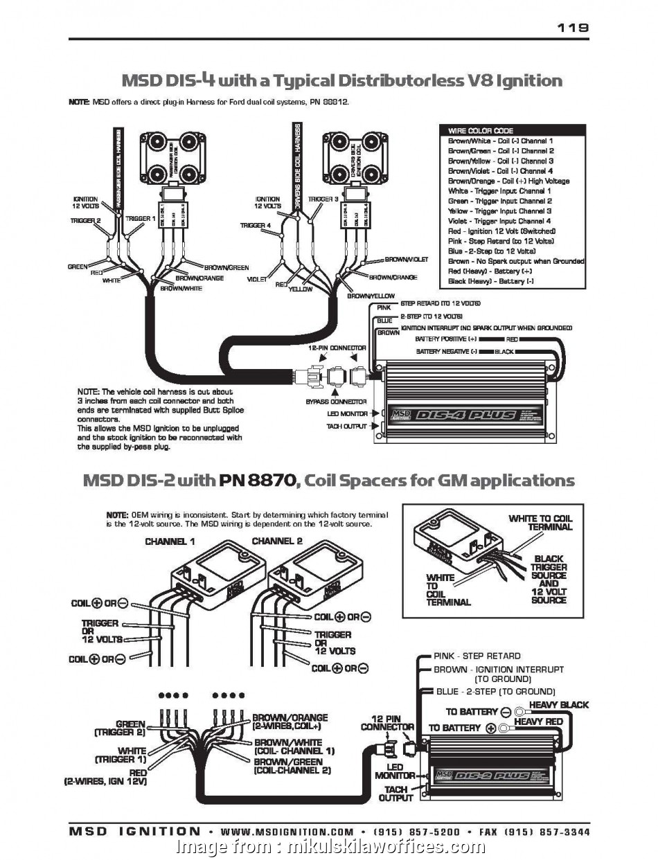Msd 6A Wiring Diagram Chevy Hei Professional Chevy Starter