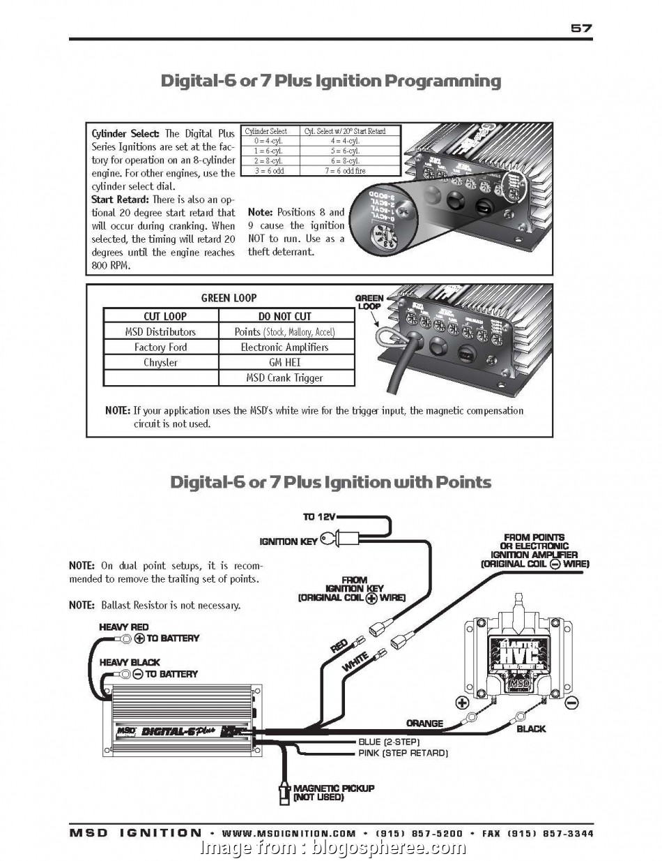 Msd Grid To, Wiring Diagram Top Msd 6400 Wiring Diagram