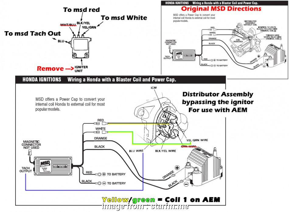 Msd, Part Number 6420 Wiring Diagram Top Msd Ignition