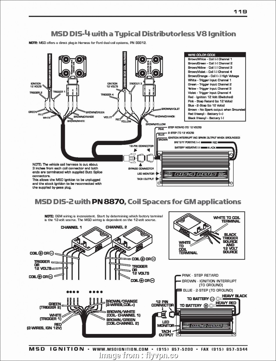Msd Starter Wiring Diagram Most Chevy, Ignition Coil