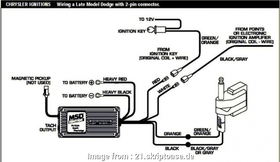 Msd, Wiring Diagram Chrysler Cleaver Mopar, Wiring Diagram