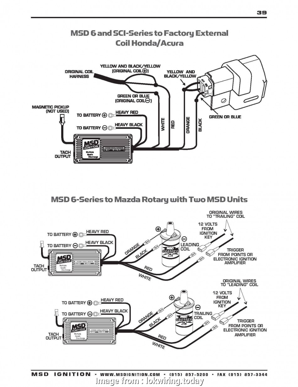 Msd, Wiring Diagram Vw Simple Honda, Ignition Wiring