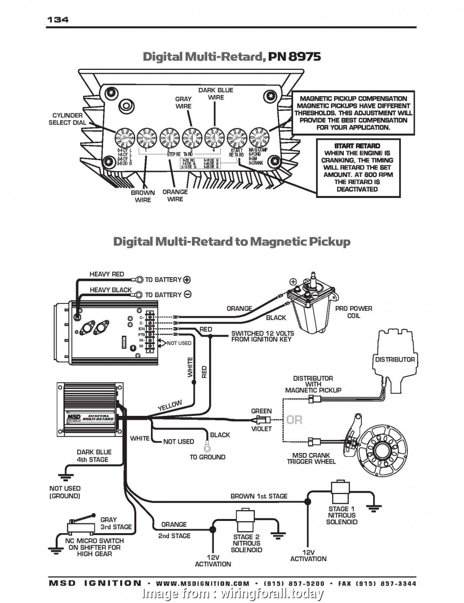 Msd, Wiring Diagram Vw Popular Msd Digital 6 Wiring