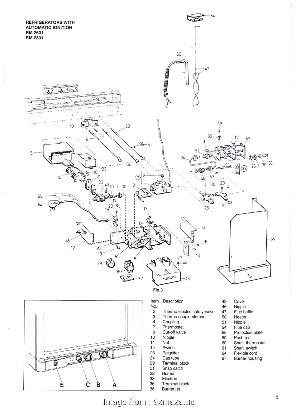 Ranco, Thermostat Wiring Diagram Creative Dometic Single