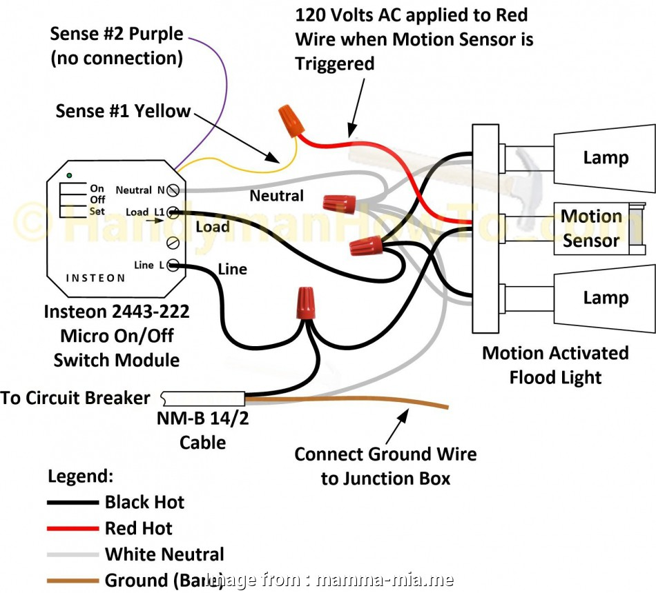 medium resolution of red electrical wire ceiling junction box wiring diagram outdoor lighting electric sensor to light