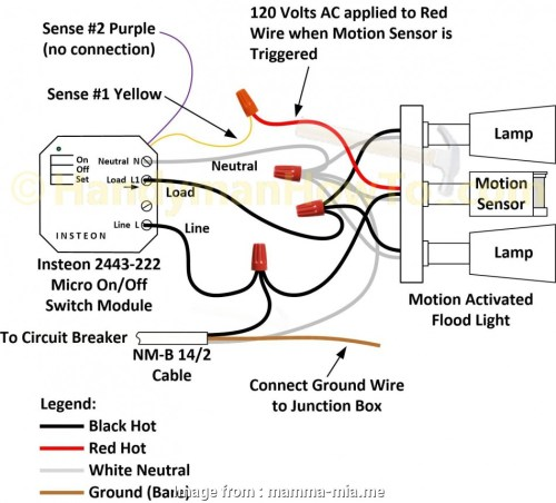small resolution of red electrical wire ceiling junction box wiring diagram outdoor lighting electric sensor to light