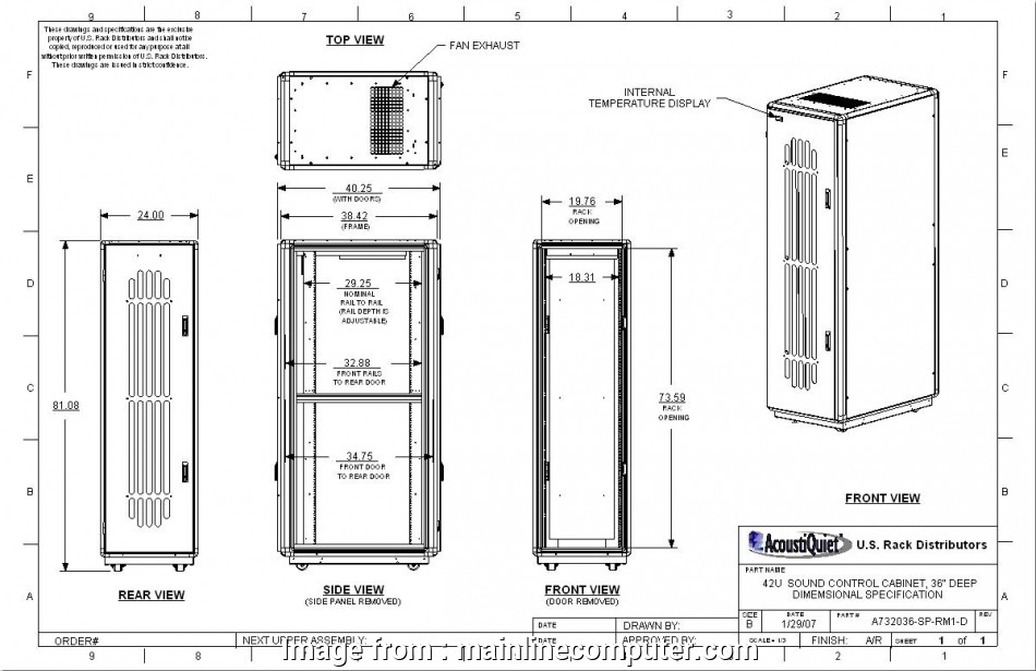 Rittal Thermostat Wiring Diagram Creative AcoustiQuiet