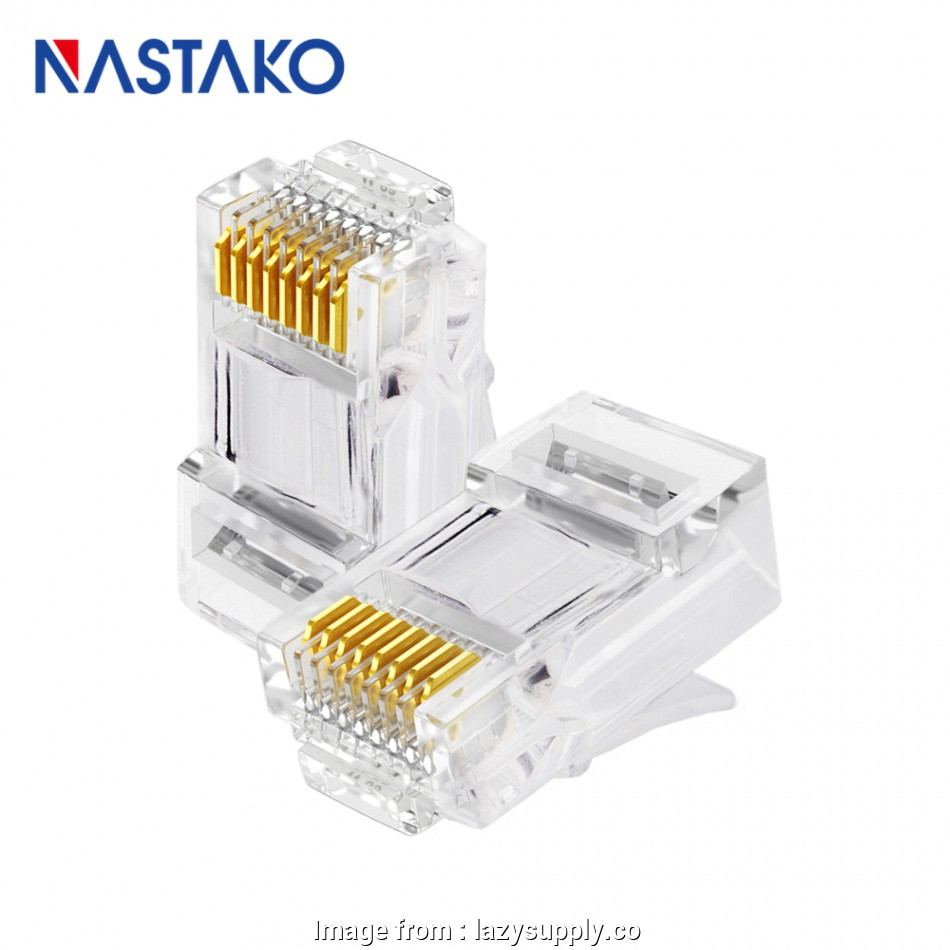 hight resolution of rj45 jack wiring diagram nastako 50 100x cat5e cat6 connector rj45 connector ez rj45 cat6 rh
