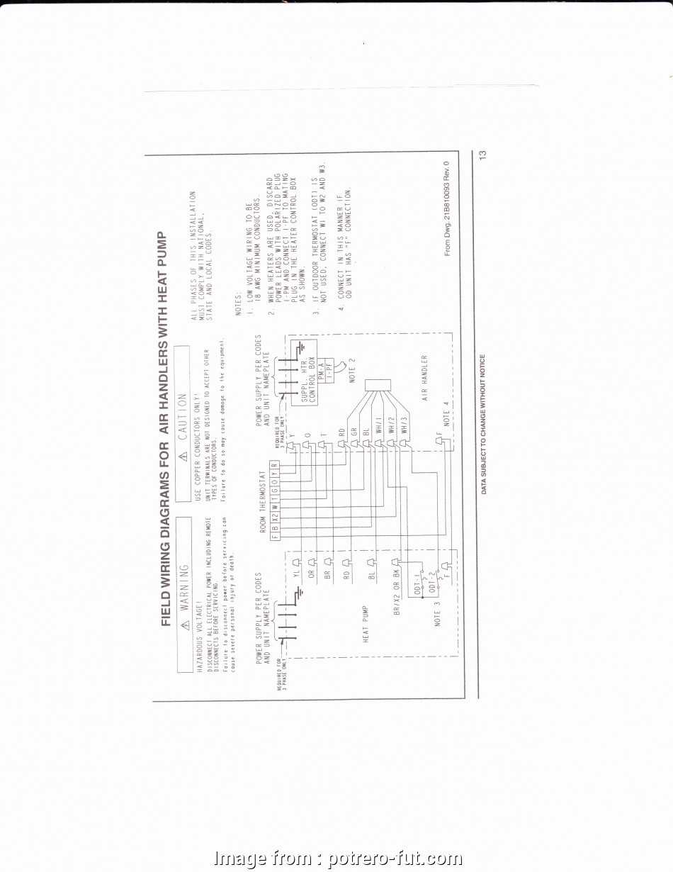 Single Stage Thermostat Wiring Diagram Popular 7 Wire