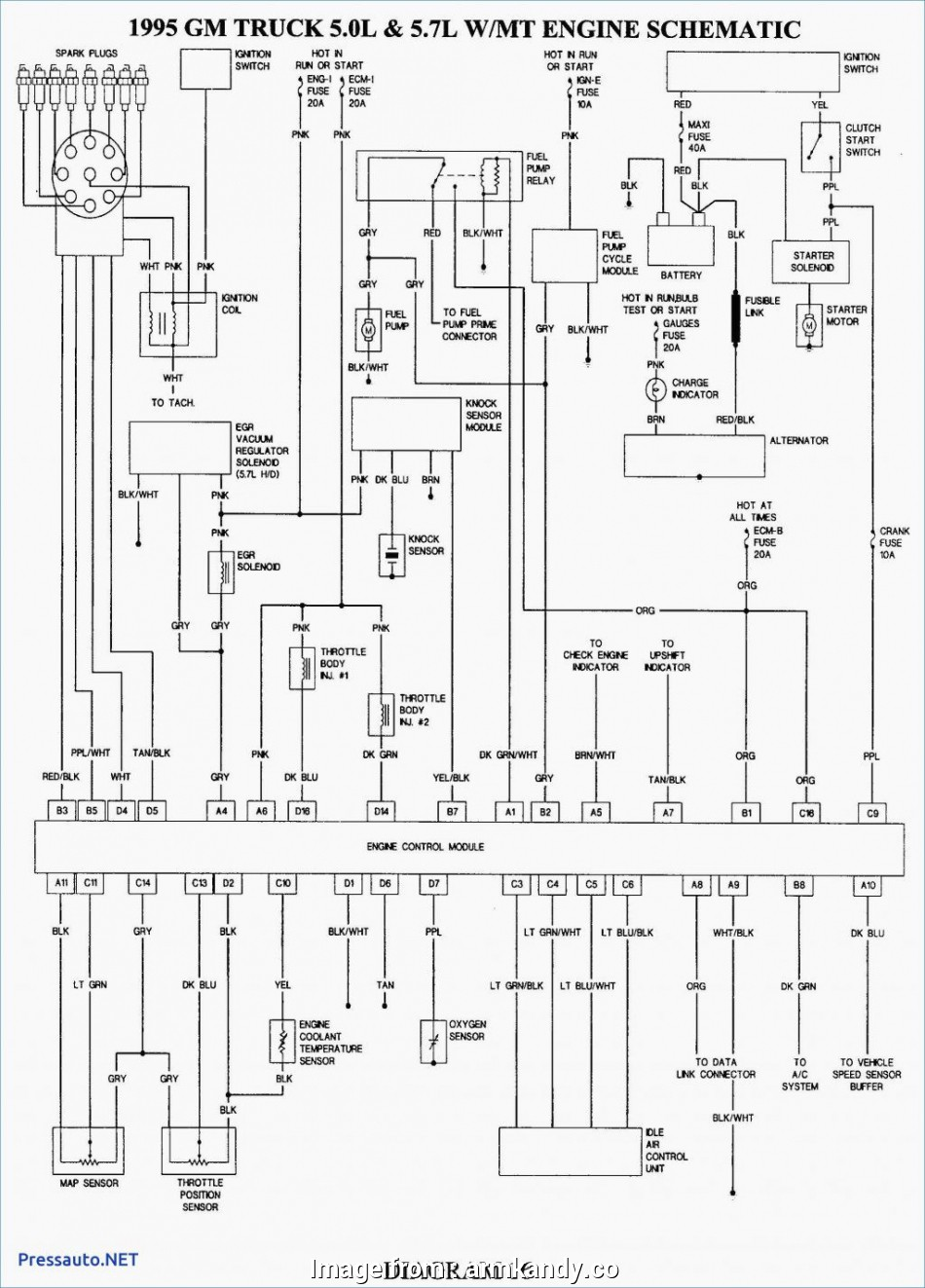 Starter Wiring Diagram, Chevy 350 Nice 92 Chevy, Tbi