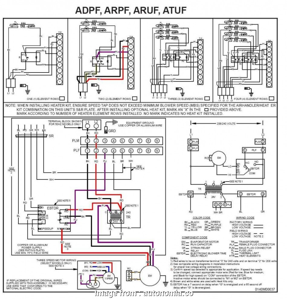 Thermostat Wiring Diagram With Heat Pump Simple Bryant