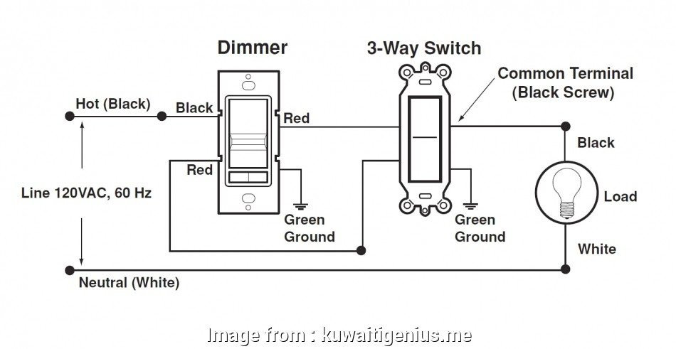 Three, Switch With Dimmer Wiring Diagram Professional 3