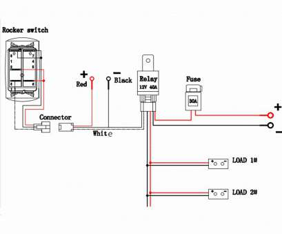 12 Professional 3, Rocker Switch Wiring Diagram Ideas