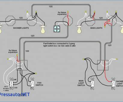 3, Switch Wiring Diagram Multiple Lights Power At Light