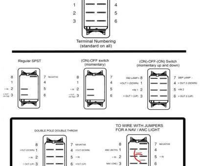 6, Toggle Switch Wiring Diagram Brilliant Led Toggle