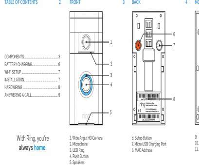 6 Wire Doorbell Wiring Diagram Fantastic Wiring Diagrams