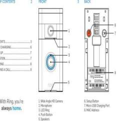 Ring Doorbell Wiring Diagram Light With 3 Switches 6 Wire Fantastic Diagrams New Bharg031 User Manual Users 10 13 Home