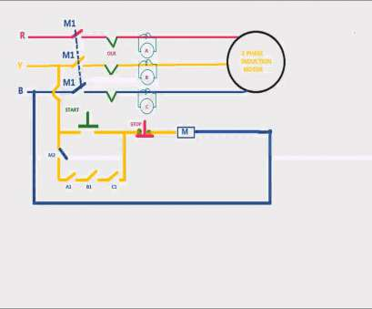 control wiring diagram for single phase motor 2003 toyota corolla ac bentex starter simple forward reverse new preventer animation video in hd photos
