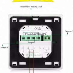 Underfloor Heating Thermostat Wiring Diagram Dual Capacitor 18 Nice C17 Collections Tone Tastic Weekly Programmable Touch Screen Of Outstanding P474 0100