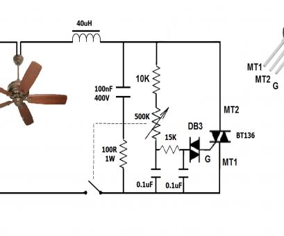 3 wire ceiling fan capacitor wiring diagram