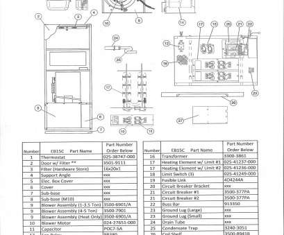 9 Nice Coleman Electric Furnace Wiring Diagram Images