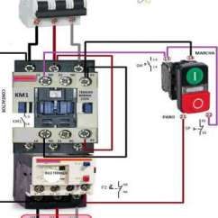 3 Phase Contactor Wiring Diagram Start Stop Static Converter 16 Popular Dol Starter Collections Tone Tastic With Electrical Diagrams Extraordinary On