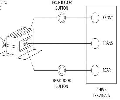 Doorbell Wiring Diagram Tutorial Most Single Doorbell