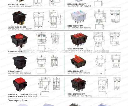 9 Most Double Pole Illuminated Rocker Switch Wiring