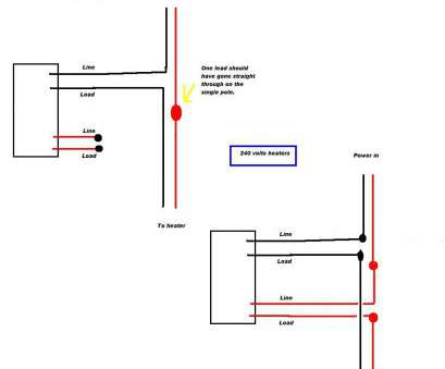 Dual Thermostat Wiring Diagram Top Double Pole Thermostat