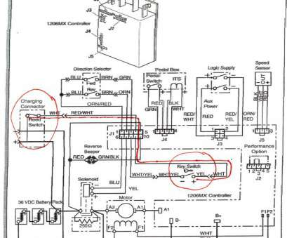Electrical, Switch Wiring Diagram New Ezgo Electric Cart