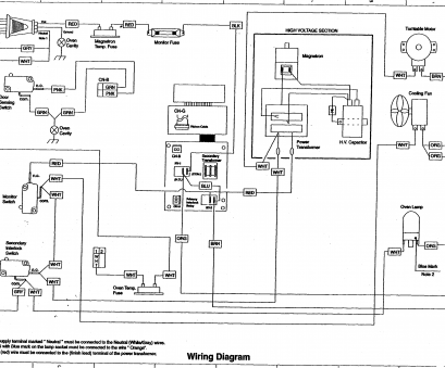 Electrical Wiring Diagram Of Microwave Oven Creative