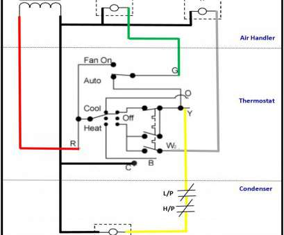 Ac Condenser Wiring Diagram As Well - Wiring Diagrams on