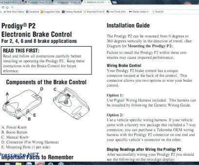 tekonsha p2 wiring diagram ct70 ford trailer brake controller best simple p3 electric