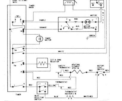 Ge Dryer Wiring Diagram Simple Freezer Defrost Timer