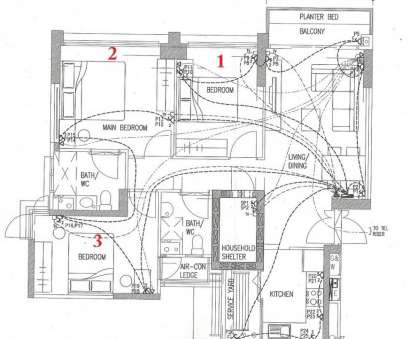 9 Professional Home Electrical Wiring Blueprint, Layout