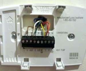 Honeywell Rth7400 Thermostat Wiring Diagram | Online