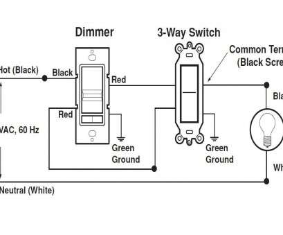 How To Wire A 3-Way Switch, White Black Fantastic Lutron 3
