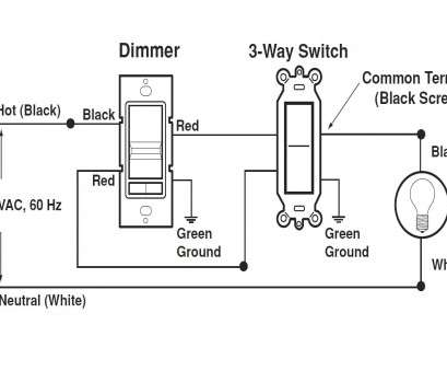 How To Wire A Dimmer Switch In A, Way Switch Best Clipsal