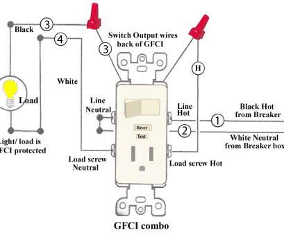 How To Wire A Light From An Outlet Switch Combo Fantastic
