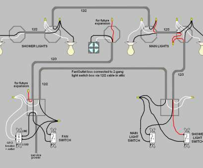 How To Wire A Light Switch, An Outlet Together Nice