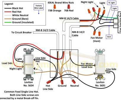wiring diagram for home light switch