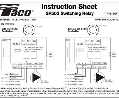 How To Wire A Valve Switch Professional Taco Zone Valve