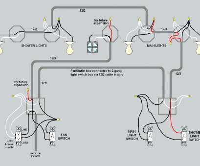 How To Wire, Gang Light Switch Wiring Diagram Fantastic 3
