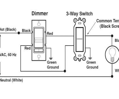 How To Wire, Way Switch With Multiple Outlets Most Leviton