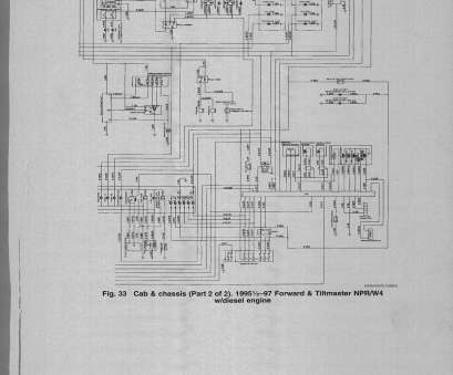 Isuzu, Electrical Wiring Diagram Simple Isuzu 4Hk1, Wiring