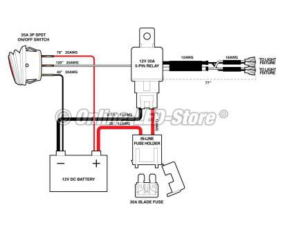 Lighted Rocker Switch Wiring Diagram 120V Perfect How To