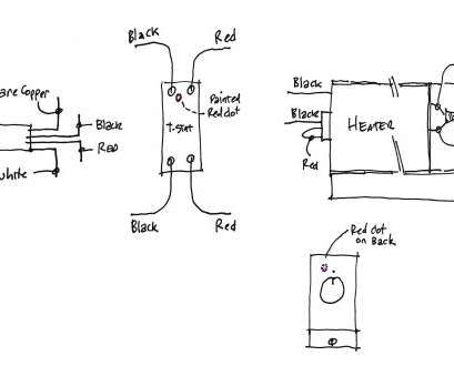 Line Voltage Thermostat Wiring Diagram Perfect Mears