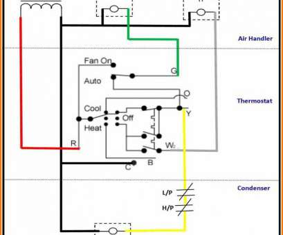 5 Wire Thermostat Wiring - Schematics Online Air Conditioner Thermostat Wiring on